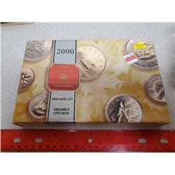 2000 7-coin Specimen set. In case of issue.