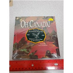 1987-1997 Oh Canada set. Includes the 10th Anniversary of the loonie, with a special flying loon onl
