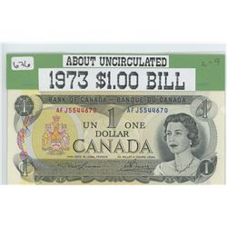 1973 $1.00 Banknote About Unc.