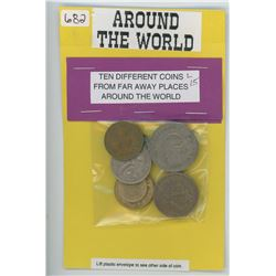 World Coins - Package of 10