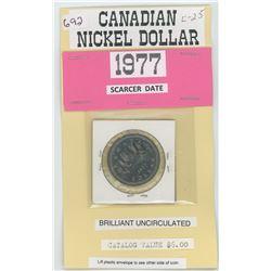 1977 Nickel Dollar UNC