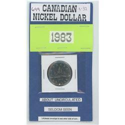 1983 Nickel Dollar Unc.
