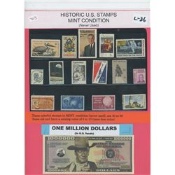 One Million Dollars - Marilyn Monroe and John F. Kennedy