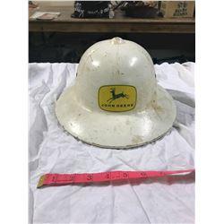 1 John Deere White Hard Hat
