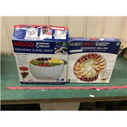 2 Trays And 1 Plastic Add On Tray Insert For NESCO American Harvest Dehydrator