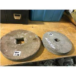 2 Grindstone Wheels
