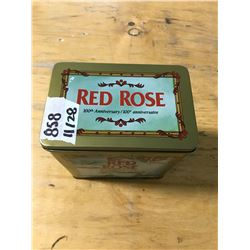 Red Rose Tea Can (100th Anniversary)