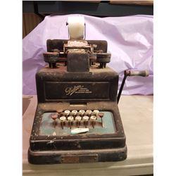 Vintage Adding, Listing & Calculating Machine - Dalton