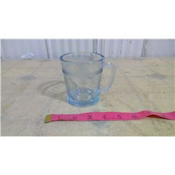 OLD FIRE KING OVEN GLASS CLEAR MUG