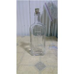 CLEAR RALEIGHT BOTTLE