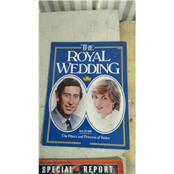 MAGAZINE OF PRINCE CHARLES AND PRINCESS DIANA ROYAL WEDDING 1981