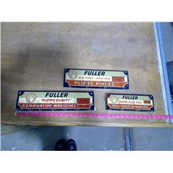 Three Fuller Tool Signs/ Display Racks
