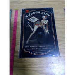 """12""""x8"""" Reproduction Tin Signs"""