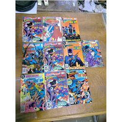Ten DC Superman Comics