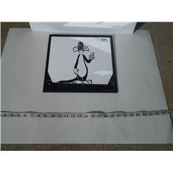 """Sylvester Mirror Sign 12x12"""""""