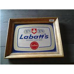"""Labatt's Pilsner Mirror Sign 14x11"""""""