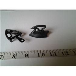 Miniature Cast Iron Salesman Sample (Iron and Trivet)