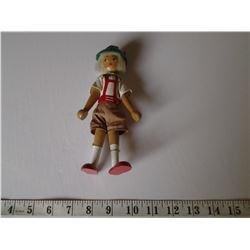 Vintage Dutch Wooden Doll