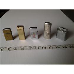 Lighters Japan, Legion, Tiger etc.