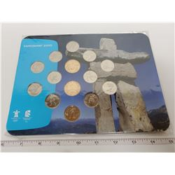Canadian 2010 Vacouver olympic coin set