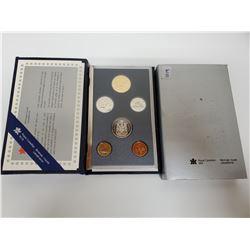 1990 Canadian specimen set