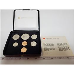 1979 Canadian double penny set