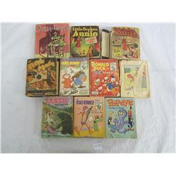 Lot of 10 Vintage Big Little Books
