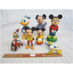 Lot of Disney Toys Mickey, Donald etc