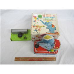 Jumbo the bubble blowing elephant for parts or repair