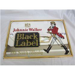 Johny Walker Advertising Mirror