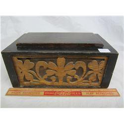 Antique Hand Made Stash Box