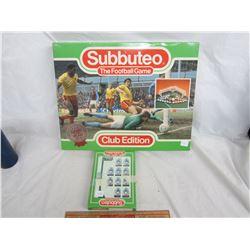 Subbuteo English Soccer Game