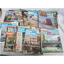 Large Lot of Railway Magazines