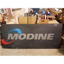 "Modine Shop Sign Plasic 86"" X 36"""