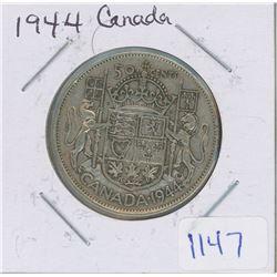 1944 CANADA 50 CENT PIECE