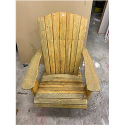 Adirondack Chair Wooden