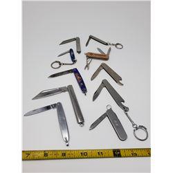 10 pocket knives