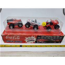 1979 3 die cast friction metal toy vehicles