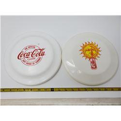 Pair of frisbees - Coke & Diet Coke