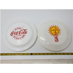 Pair of frisbees - Coke & Diet Coke