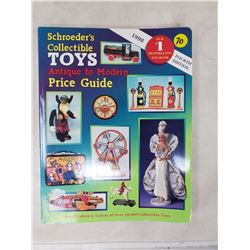 Schroder's collectible toy price guide 1998
