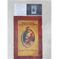 1915 Panama Pacific International Exposition-San Fran, Rare