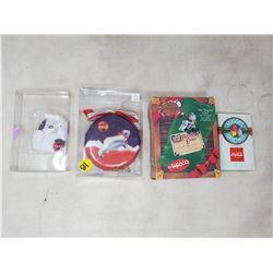 (4) misc Coca Cola items