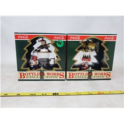 """(2) boxes """"Bottle Works Collection"""" Christmas Tree Ornaments"""