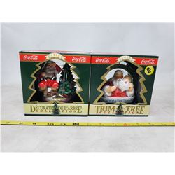 """(2) boxes """"Trim A Tree Collection"""" Christmas Tree Ornaments"""