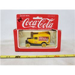 Die cast 1920/30's Coca Cola Delivery Truck