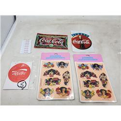 (6) various Coca Cola items