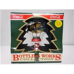 """1992 """"Bottling Works"""" collection Coca-Cola Christmas ornament 'North Pole Express'"""