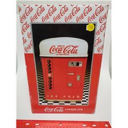 Coca-Cola large cookie jar, New in box