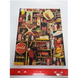 500 piece Coke Jigsaw puzzle